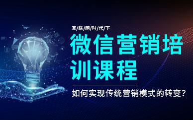 深圳微信网络营销培训班