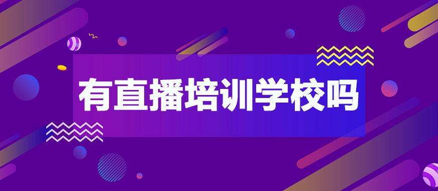 广州有培训做直播的学校吗 - 美迪教育